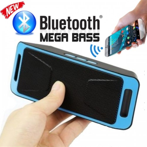 Луксозна портативна Bluetooth колона Wireless BT Speaker Megabass 308
