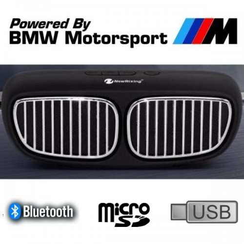 Мощна Bluetooth колона с Акумулатор, Радио, USB, SD card - BMW New Rixing NR-2020